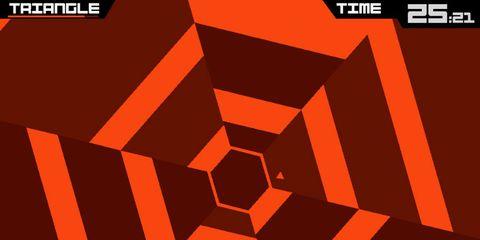 Orange, Red, Line, Parallel, Illustration, Square, Graphics,