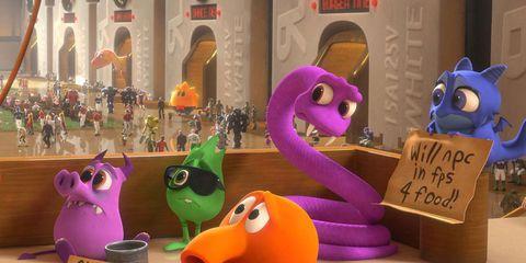 Purple, Toy, Violet, Lavender, Snout, Arch, Baby toys, Animal figure, Plastic, Animation,