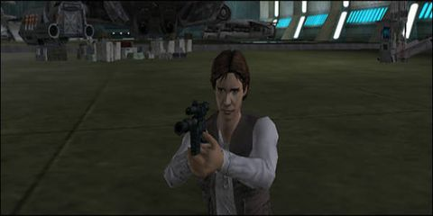 Animation, Games, Plain, Fictional character, Pc game, Shooting, Snapshot, Video game software, Revolver, Gesture,