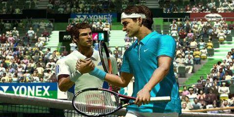 Clothing, Sports equipment, People, Sport venue, Sportswear, Sports uniform, Tennis racket, Ball game, Elbow, Cap,