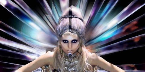 Purple, Fashion, Beauty, Eyelash, Art, Colorfulness, Cg artwork, Blond, Violet, Long hair,