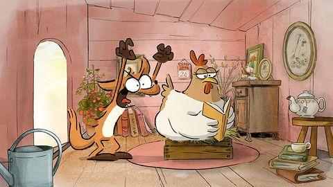 Cartoon, Animated cartoon, Animation, Illustration, Art, Fiction,