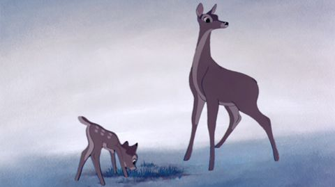 Natural environment, Vertebrate, Terrestrial animal, Art, Neck, Fawn, Animation, Snout, Wildlife, Illustration,