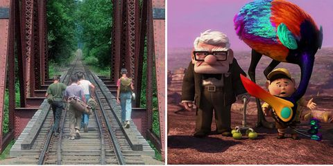Human, Collage, Adaptation, People in nature, Holiday, Animation, Fictional character, Track, Love, Photomontage,