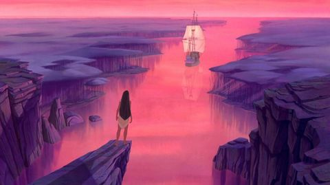 Sky, Illustration, Watercolor paint, Cg artwork, Anime, Horizon, Painting, Landscape, Art, Calm,