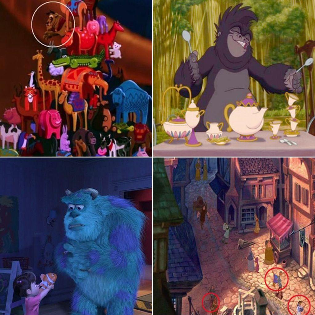 25 cameos de personajes Disney ocultos en otras películas