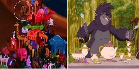 Purple, Collage, Animation, Fur, Fictional character, Dishware, Illustration, Serveware, Animated cartoon, Toy,