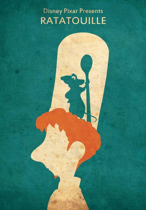 Teal, Poster, Illustration,