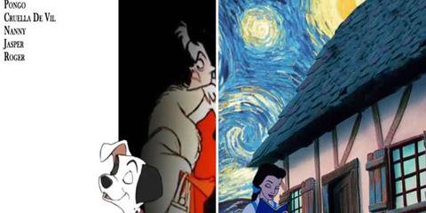 Animation, Animated cartoon, Art, Cartoon, Fiction, Illustration, Fictional character, Costume, Painting, Photo caption,