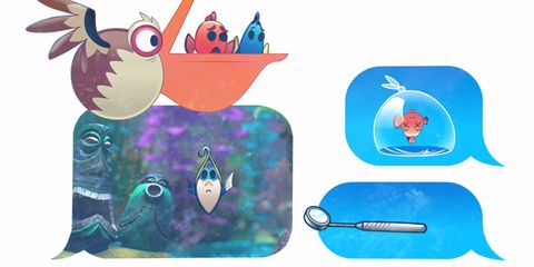 Vertebrate, Illustration, Beak, Animation, Bird, Graphics, Tool, Marine mammal,