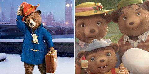 Grizzly bear, Cartoon, Animated cartoon, Illustration, Art, Bear, Brown bear, Collage, Adaptation, Groundhog day,