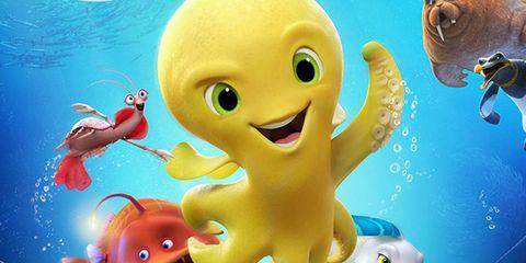 Animated cartoon, Cartoon, Animation, Organism, Illustration, Marine biology, Underwater, Fish, Art,