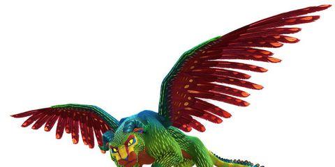 Organism, Adaptation, Wing, Art, Terrestrial animal, Fictional character, Tail, Dinosaur, Teal, Graphics,