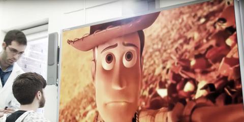 Forehead, Animation, Toy, Figurine, Action figure, Animated cartoon,