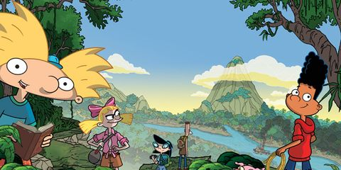 Cartoon, Animated cartoon, Illustration, Anime, Fiction, Organism, Adventure game, Art, Fictional character, Animation,