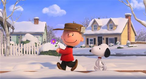 Winter, Snow, House, Home, Animation, Residential area, Freezing, Cottage, Holiday, Costume hat,