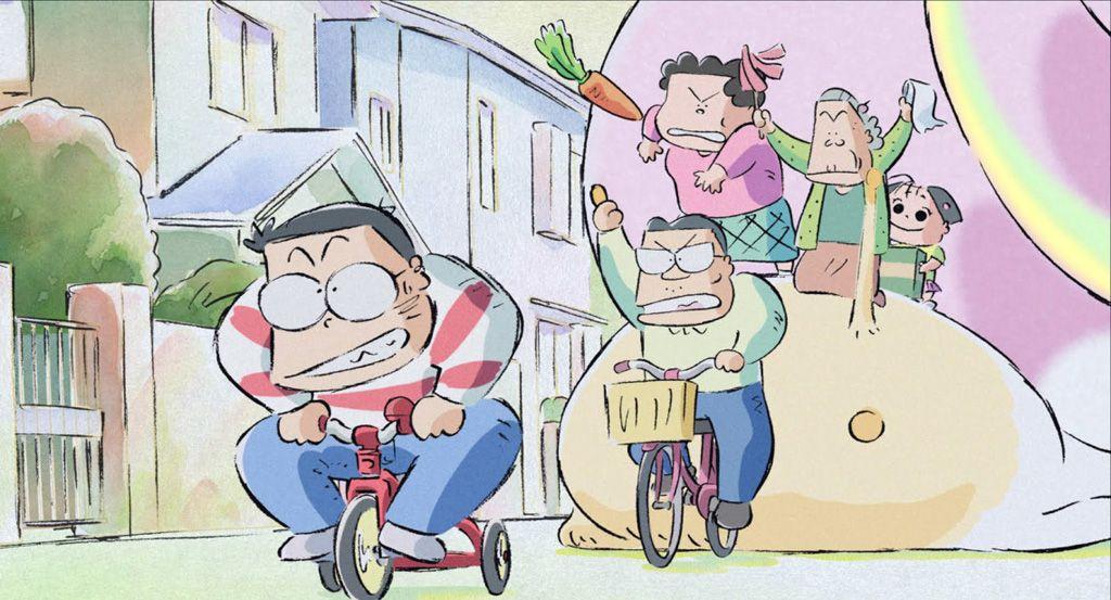 "Resultat d'imatges per a ""mis vecinos los yamada globos"""