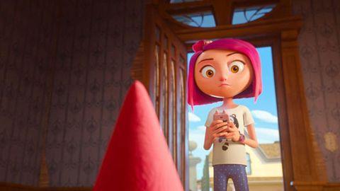 Animated cartoon, Pink, Animation, Fun, Adventure game, Toy, Vacation, Media, Child,