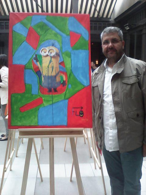 Jacket, Jeans, Denim, Easel, Paint, Art, Artist, Visual arts, Painting, Art paint,