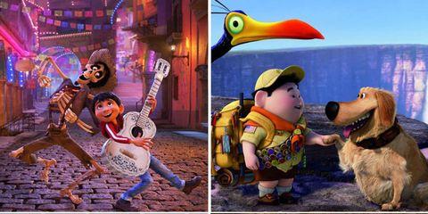 Art, Collage, Animation, Beak, Fictional character, Fiction, Animated cartoon, Illustration, Bird, Red hair,