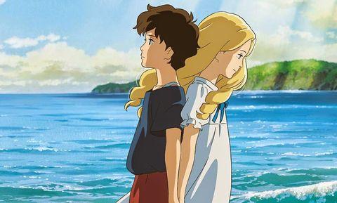 Animation, People in nature, Summer, Ocean, Cartoon, Interaction, People on beach, Holiday, Love, Romance,