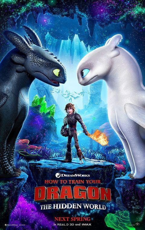 Image result for como entrenar a tu dragón 3 poster