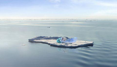 Sea ice, Iceberg, Water, Ice, Natural environment, Sky, Ocean, Arctic ocean, Sea, Arctic,