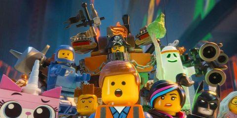 Toy, Animated cartoon, Lego, Cartoon, Action figure, Animation, Space, World, Fiction, Fictional character,
