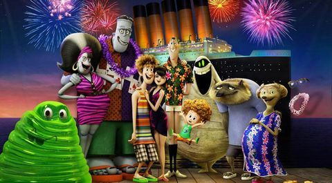 Animation, Purple, Violet, Holiday, Magenta, World, Cartoon, Animated cartoon, Fireworks, Fictional character,