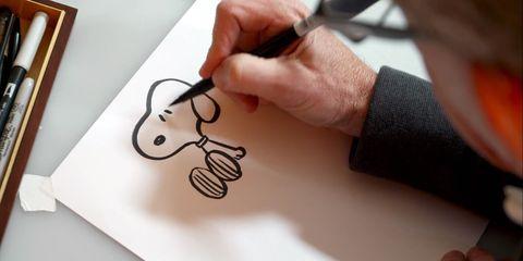 Vídeo Aprende A Dibujar A Snoopy De La Mano Del Director