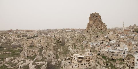 Neighbourhood, Residential area, Ruins, Village, Human settlement, Suburb, Ancient history, Aerial photography, History, Archaeological site,