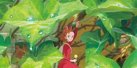 Leaf, Art, Fictional character, Art paint, Animation, Paint, Painting, Illustration, Watercolor paint, Graphics,