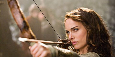 Hairstyle, People in nature, Beauty, Fictional character, Long hair, Brown hair, Blond, Portrait photography, Bow, Longbow,