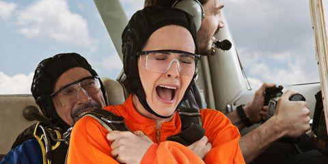 Eyewear, Vision care, Glasses, Personal protective equipment, Travel, Jacket, Cool, Air travel, Aerospace engineering, Camera,