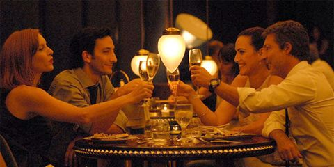 Lighting, Drinkware, Barware, Table, Furniture, Tableware, Lamp, Interaction, Sharing, Lampshade,