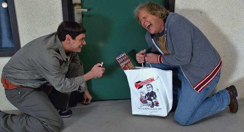 Carmine, Conversation, Bag, Box, Shopping bag,