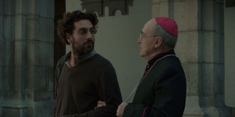 Beard, Clergy, Facial hair, Cardinal, Gesture, Moustache, Bishop, Fictional character, Elder, Nuncio,