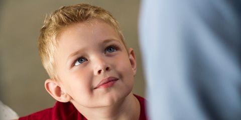 Ear, Finger, Cheek, Eye, Child, Baby & toddler clothing, Eyelash, Toddler, Blond, Nail,