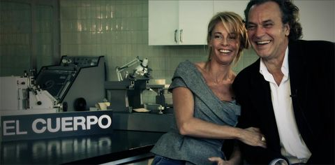 Smile, Happy, Facial expression, Denim, Tooth, Laugh, Love, Machine, Countertop, Steel,