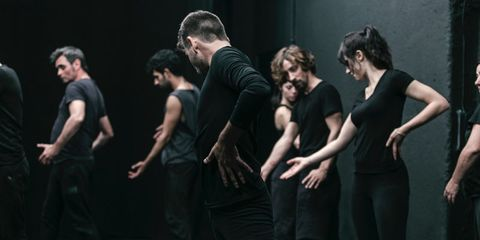 People, Fun, Event, Social group, Human body, Standing, Hand, Dancer, Interaction, Artist,