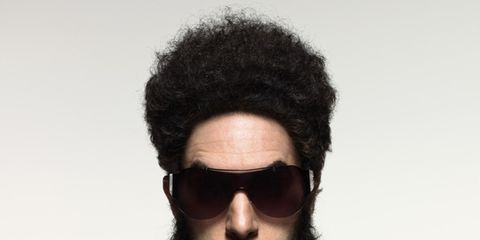 Eyewear, Vision care, Facial hair, Hairstyle, Goggles, Sunglasses, Style, Moustache, Fashion accessory, Costume accessory,
