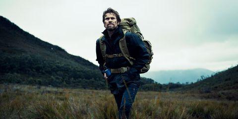 Soldier, Highland, Hill, Grassland, Cargo pants, Backpack, Wilderness, Adventure, Fell, Bag,