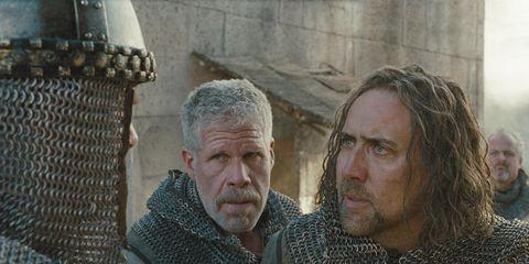 Human, Facial hair, Beard, Moustache, Wrinkle, Viking, History, Mail, Armour,