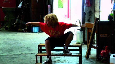 Sitting, Balance, Ankle,
