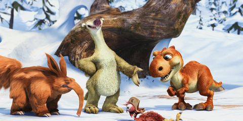Organism, Adaptation, Art, Terrestrial animal, Snow, Animation, Trunk, Liver, Animal figure, Toy,