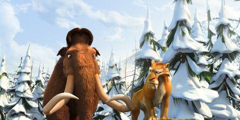 Animation, Art, Liver, Animated cartoon, Illustration, Canidae, Fox, Fictional character, Painting, Snow,