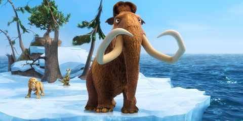 Organism, Vertebrate, Mammoth, Adaptation, Animation, Walrus, Elephant, Elephants and Mammoths, Illustration, Animal figure,