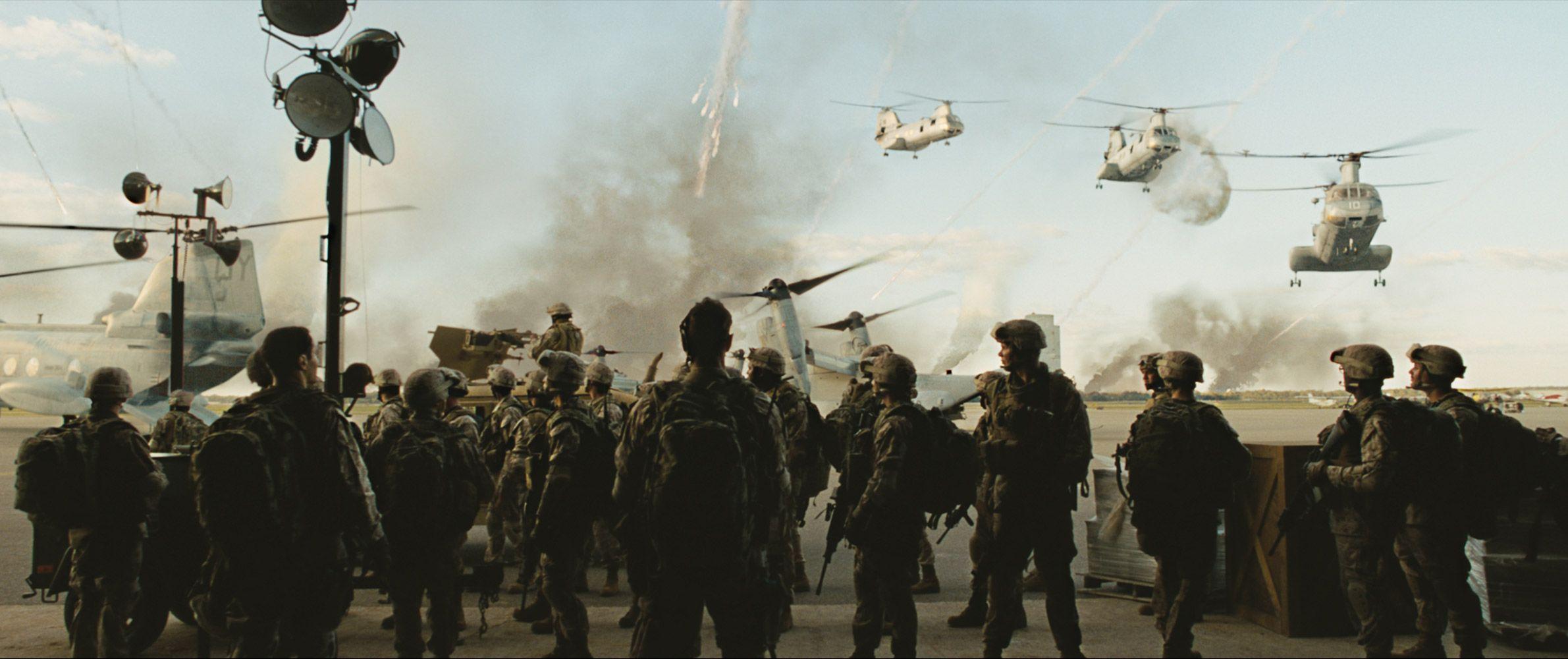 Invasión del mundo: Batalla de Los Ángeles peliculas de ovnis y extraterrestres