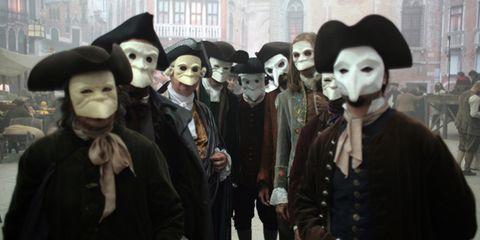 Hat, Costume, Headgear, Costume accessory, Costume hat, Fur, Mime artist, Sun hat, Mask, Fedora,