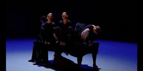 Human body, Stage, heater, Sitting, Drama, Scene, Conversation, Performance art, Theatre, Acting,